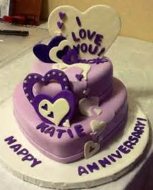 you have to see anniversary cake for a cute young couple