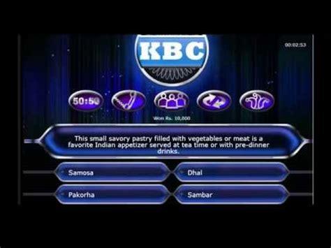 quiz questions kbc kbc 8 2014 kaun banega crorepati 8 youtube