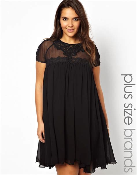 Lipstick Boutique Plus Lipstick Boutique Swing Dress