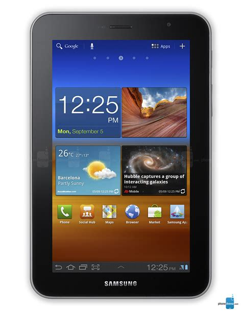 samsung galaxy tab 7 0 plus specs