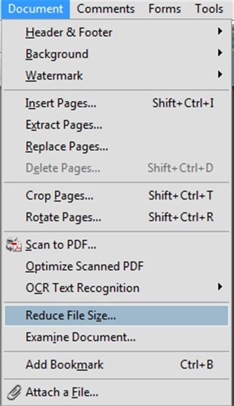 compress pdf according to size how to compress pdf using acrobat reader techglimpse