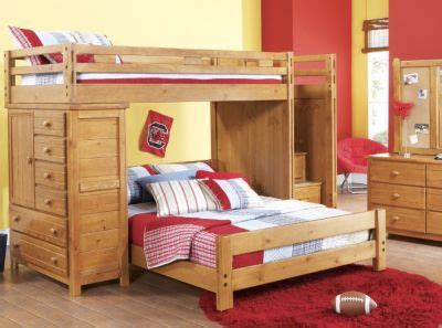 Creekside Bunk Beds Creekside Taffy Step Bunk Bedroom W Chest Want For The Boys Room Except Not With The