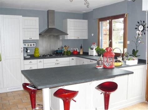 Agréable Plan De Travail Cuisine Gris #6: 4.cuisine-cottage-1.jpg