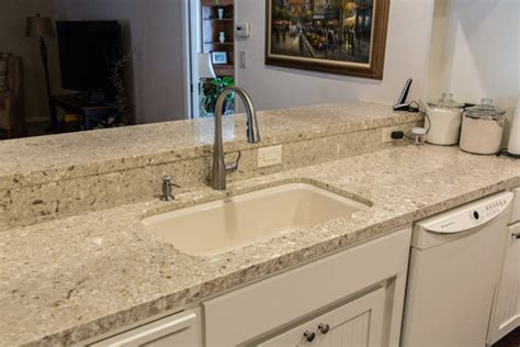 Best Kitchen Backsplash Material by Chakra Beige Quartz Countertops Q Premium Natural Quartz