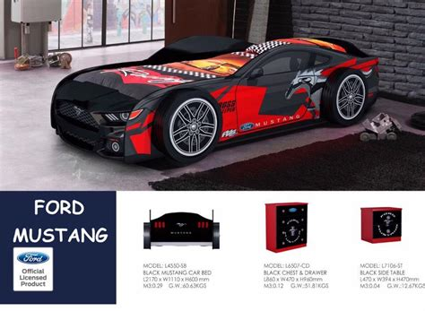 mustang bed mustang car bed black new awesome limited stock