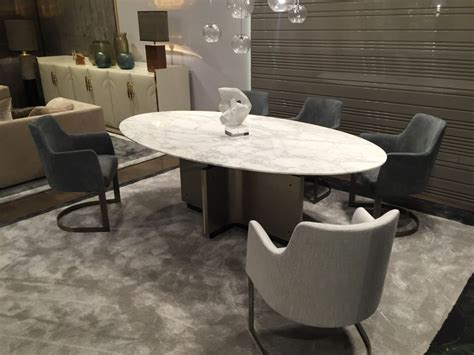 Marble Top Dining Table Designs Oval Dining Table Designs A Symbol Of Versatility And Sophistication