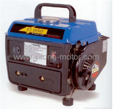 portable gasoline generator set yl950 yilong motor