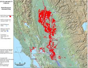 california flood zone map dartmouth flood observatory