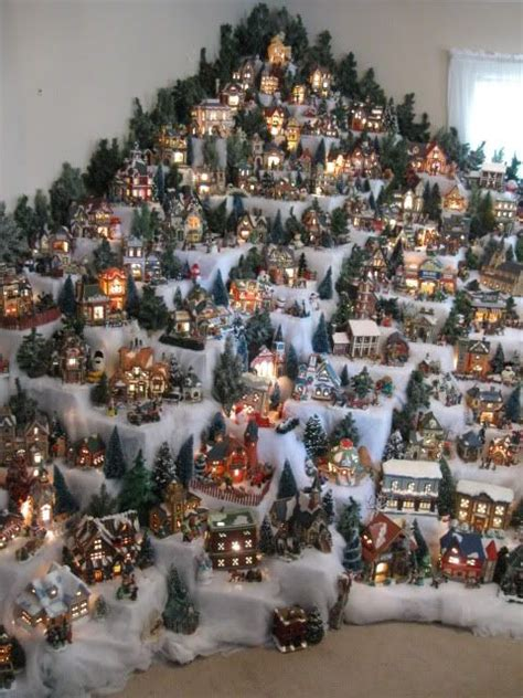 1000 ideas about christmas villages on pinterest