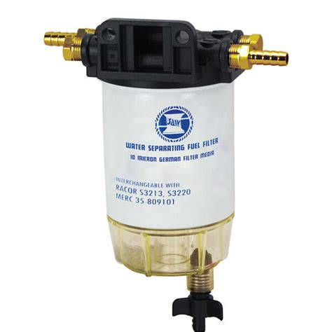 water separator for boat universal marine clear bowl fuel filter water separator