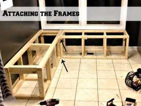 How To Build Bench Seating For Kitchen Build A Custom Corner Banquette Bench Corner Banquette