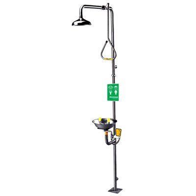 Faucet Mounted Eyewash Station Speakman 174 Safe T Zone 174 Shower And Eyewash Station Seton