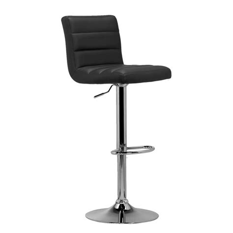 Tabouret De Bar Couleur by Tabouret De Bar Leeds Noir Couleur Chrome