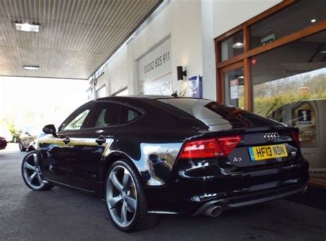 Audi A7 Biturbo Black Edition by Sold Used Audi A7 Sportback 3 0 Bitdi Quattro Black
