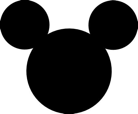 large mickey mouse template mickey mouse ears cliparts co