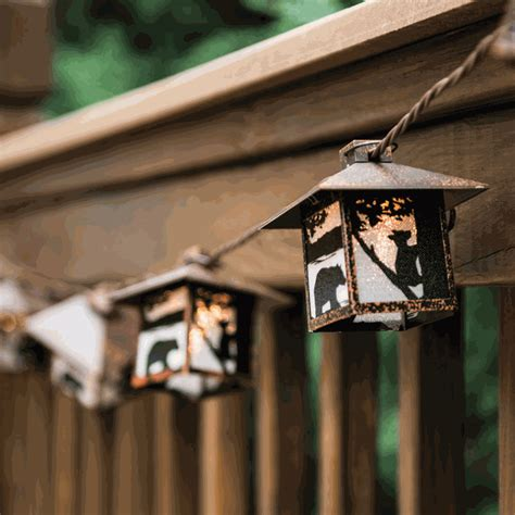 lantern light string black lantern string lights