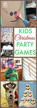 Do you have any fun christmas party games that you always play over