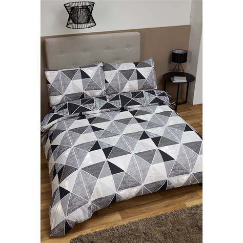 geometric king size duvet set bedding duvet sets bm