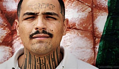 rose tattoo on neck gang 33 surprising gangster neck tattoos