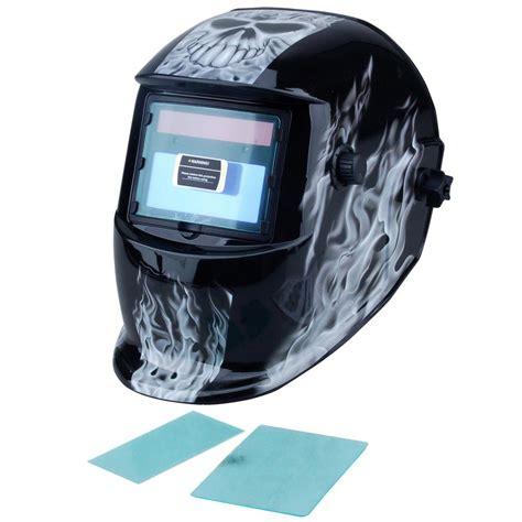 design welding helmet steel core adjustable auto darkening welding helmet with