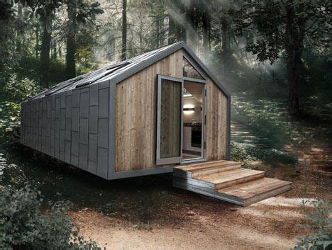 prefab camo cabin modern mobile metal clad trailer home 52 best container house project images on pinterest