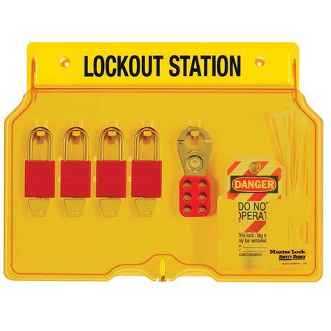 Masterlock 1482b Lockout Station model no 1482bp1106 lockout station master lock