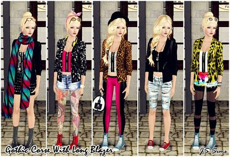 sims 3 urban clothes sims 3 urban clothing downloads
