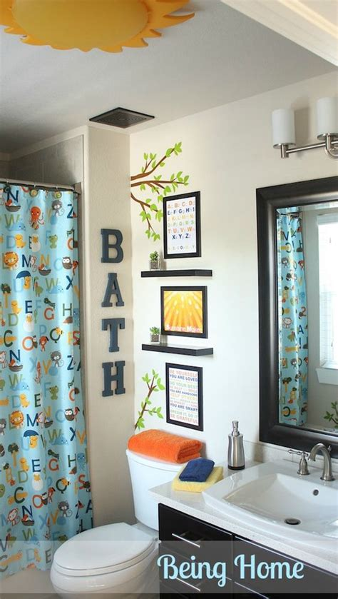 bathroom ideas for boys kid bathrooms bathroom and bathroom makeovers on pinterest
