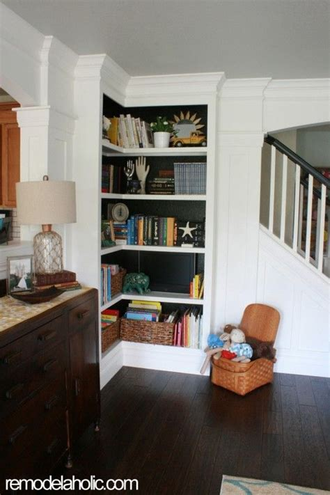 bookcase with reading nook home sweet home on a budget built ins small closets