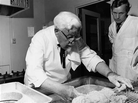 biography of colonel sanders kfc s secret recipe found in a scrapbook