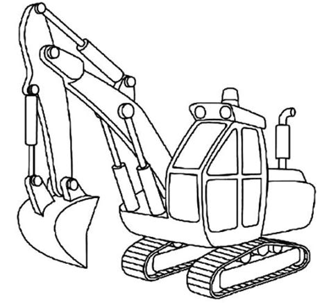 excavator coloring page printable 4 wheeler coloring pages coloring page excavator