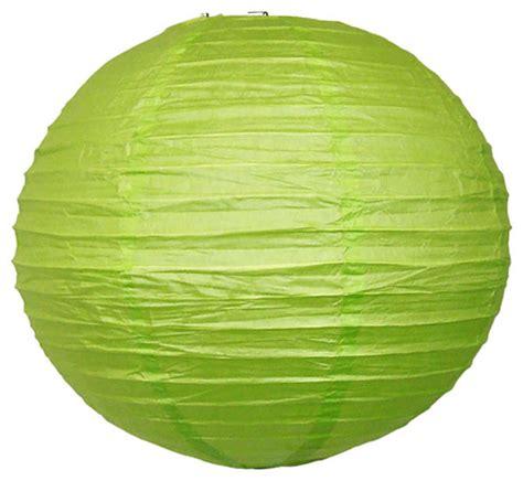 A Paper Lantern - 20 quot light green japanese paper lantern