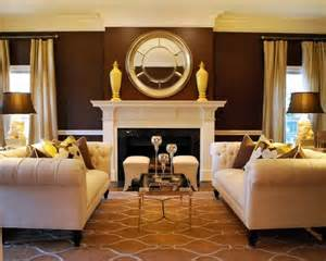 brown living room walls useful tips to choose the right living room color schemes