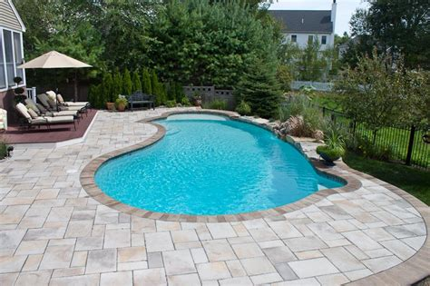 pool pavers ideas pool design options northern pool spa me nh ma