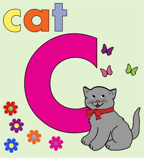 cat alphabet letter c free stock photo domain
