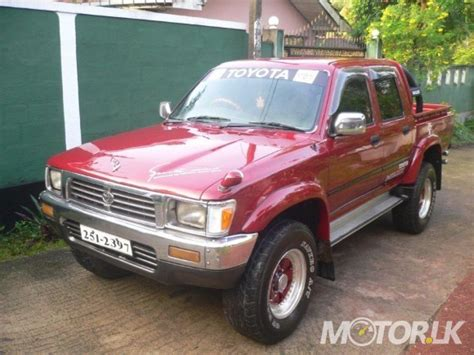 1992 Toyota Hilux For Sale 1992 Toyota Hilux Ln107 For Sale In Colombo