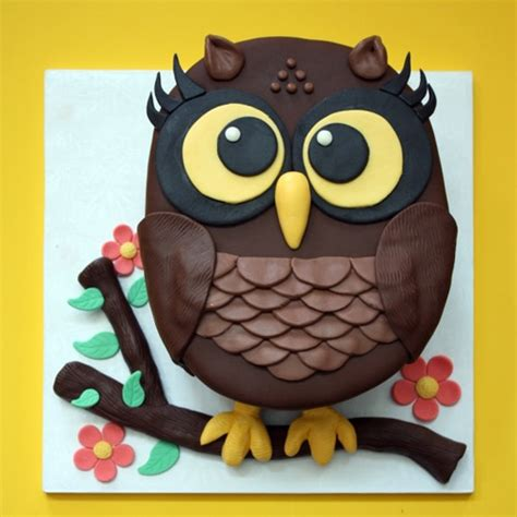 owl template for cake owl cake we how to do it