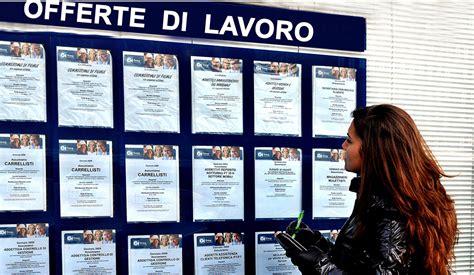 ufficio di collocamento torino lavoro pi 249 di tre milioni di giovani hanno rinunciato a