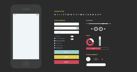 40 Free Wireframe Templates For Mobile App Fiveaday Co Ux Website Templates