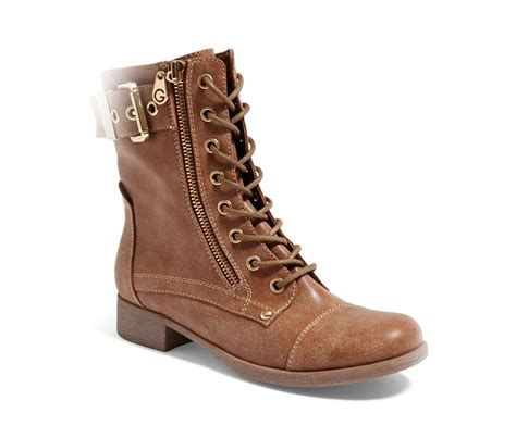g by guess s berlyn combat boots brown brands for