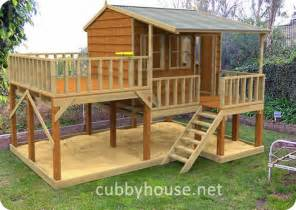 country cottage cubby house australian made backyard playground equipment diy kits