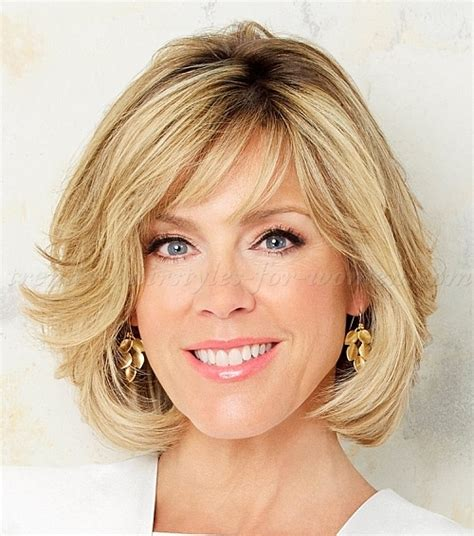 bob wavy hairstyles for women over 50 short hairstyles over 50 bob hairstyle over 50 trendy