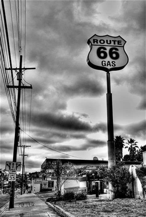 debra pflieger route 66 black whites