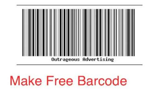 for to make free how to make a barcode free