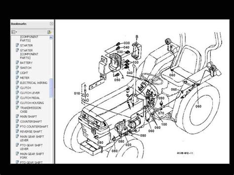 kubota tractor parts diagram kubota b7800 wiring harness ground location 43 wiring