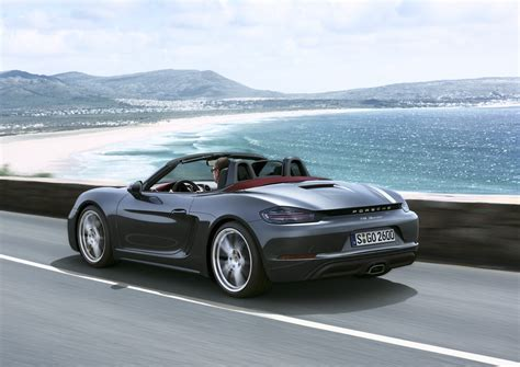 porsche car 2017 2017 porsche 718 boxster review autoevolution