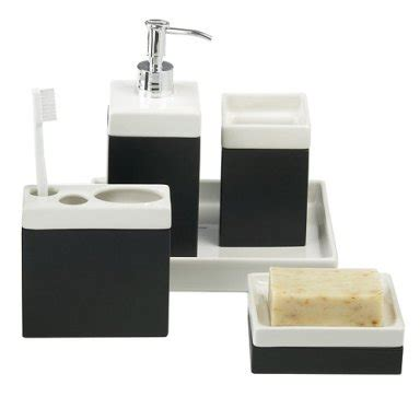black and cream bathroom accessories home garden presenting home decor home appliances