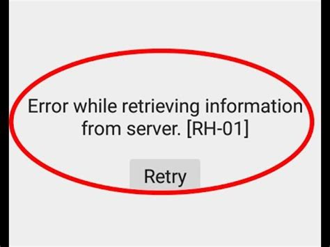Play Store Error Retrieving Information From Server Fix Error While Retrieving Information From Server Rh 01