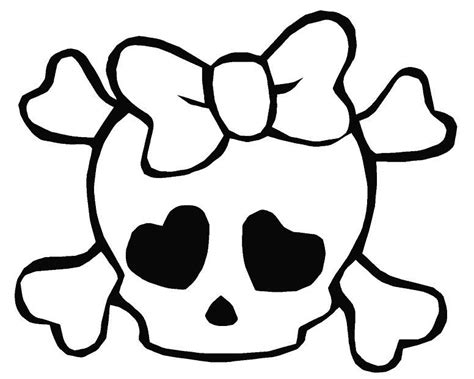 coloring pages of skull and crossbones skull and crossbones coloring page coloring home