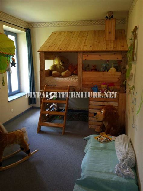 kinderzimmermobel aus h 252 tte gebaut mit paletten f 252 r ein kinderzimmermobel aus